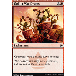 Magic löskort: Masters 25: Goblin War Drums