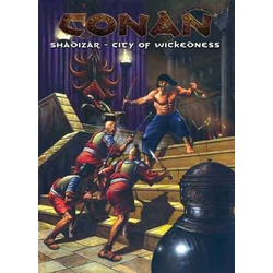 Conan: Shadizar-City of Wickedness, Box (2003)
