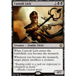 Magic löskort: Conspiracy: Take the Crown: Custodi Lich