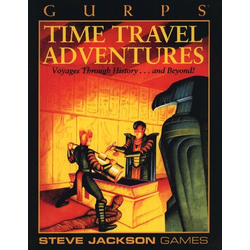 GURPS: Time Travel Adventures (begagnad)