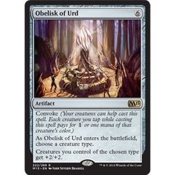 Magic löskort: M15: Obelisk of Urd