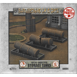 Battlefield in a Box: Gothic Industrial - Tanks