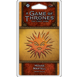 A Game of Thrones LCG (2nd ed): House Martell Intro Deck
