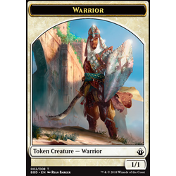 Magic löskort: Battlebond: Warrior Token