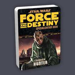 Star Wars: Force and Destiny: Specialization Deck Seeker Hunter