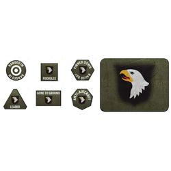 American 101st Airborne Division Tokens & Objectives