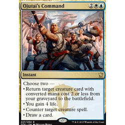 Magic löskort: Dragons of Tarkir: Ojutai's Command (Prelease Foil)