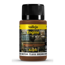 Vallejo Weathering Effects: Brown Engine Soot