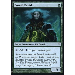 Magic löskort: Mystery Booster: Boreal Druid (Foil)