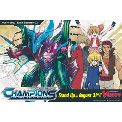 Cardfight!! Vanguard: Champions of the Asia Circuit Display (12 booster packs)