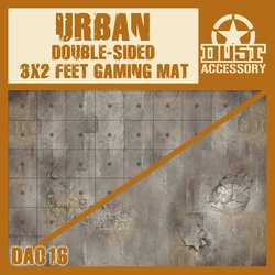 Dust 1947: Double-sided Urban Gaming Mat