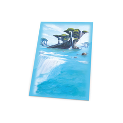 "Card Sleeves Standard ""Lands ed - Island"" 66x91mm (80) (Ultimate Guard)"