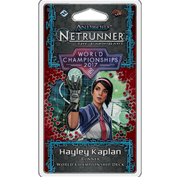 Netrunner LCG: 2017 Runner World Champion Deck