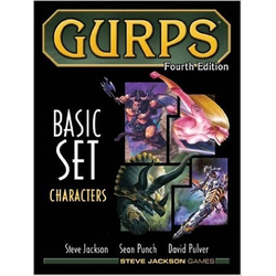 GURPS 4th ed: Basic Set Characters