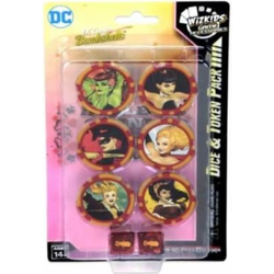 Heroclix: Harley Quinn and the Gotham Girls Dice & Token Pack