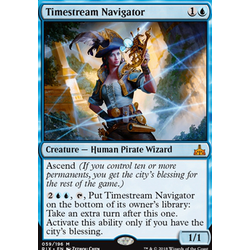 Magic löskort: Rivals of Ixalan: Timestream Navigator