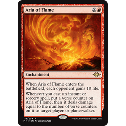 Magic löskort: Modern Horizons: Aria of Flame