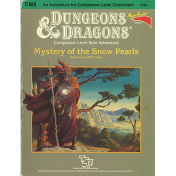 D&D: CM5, Mystery of the Snow Pearl (1985)