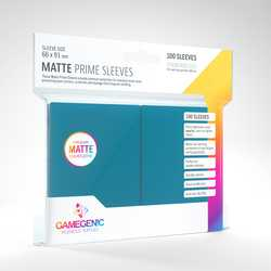 GameGenic Matte Prime Sleeves Blue (100)