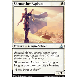 Magic löskort: Rivals of Ixalan: Skymarcher Aspirant