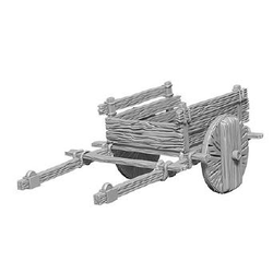 Deep Cuts (unpainted): 2 Wheel Cart (1)
