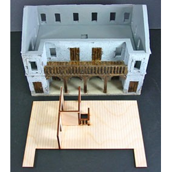 Model Building Authority Customs House Interior