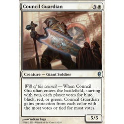 Magic löskort: Conspiracy: Council Guardian