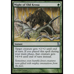 Magic löskort: Time Spiral: Might of Old Krosa