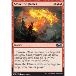 Magic löskort: M15: Stoke the Flames