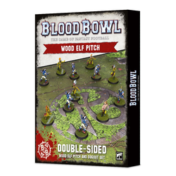 Blood Bowl: Wood Elf Pitch & Dugouts