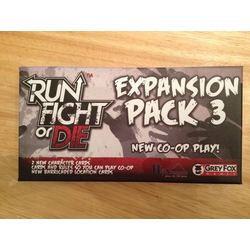Run, Fight or Die! Expansion pack 3 (Co-op)