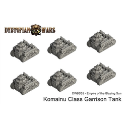 Empire of the Blazing Sun Komainu Class Garrison Tank