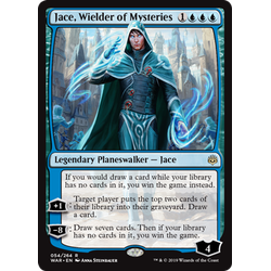 Magic löskort: War of the Spark: Jace, Wielder of Mysteries
