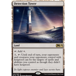 Magic löskort: Core Set 2019: Detection Tower