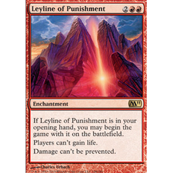 Magic Löskort: Core Set 2011 (M11): Leyline of Punishment