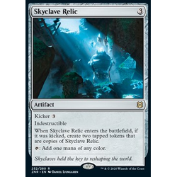 Magic löskort: Zendikar Rising: Skyclave Relic