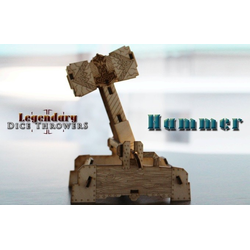 Legendary Dice Throwers: King's Castle with Hammer