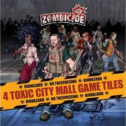 Zombicide: Toxic City Mall Game Tiles (4)