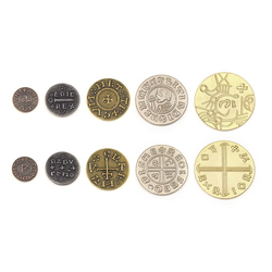Metal Coins Viking (50 st)