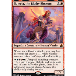 Magic löskort: Battlebond: Najeela, the Blade-Blossom