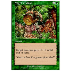 Magic löskort: 7th Edition: Might of Oaks