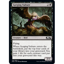 Magic löskort: Core Set 2020: Gorging Vulture