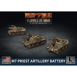 American M7 Priest Artillery Battery (plastic)