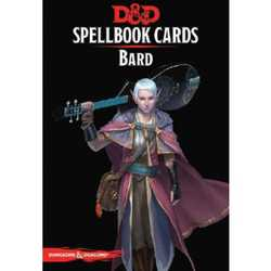 D&D 5.0: Spellbook Cards - Bard (2018 Ed.)
