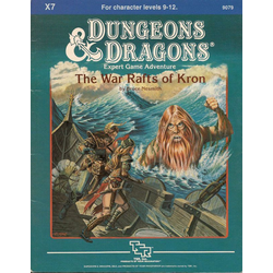 D&D: X7, The War Rafts of Kron (1984)