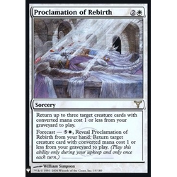Magic löskort: Mystery Booster: Proclamation of Rebirth (Foil)