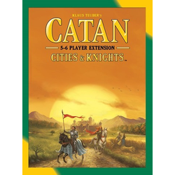 Settlers of catan (5th ed): Cities & Knights 5-6 Player expansion (eng. regler)