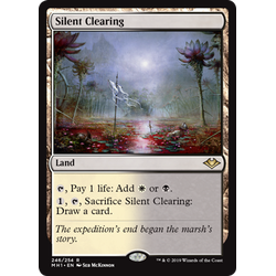 Magic löskort: Modern Horizons: Silent Clearing