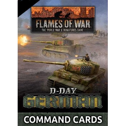 D-Day: German Command Cards