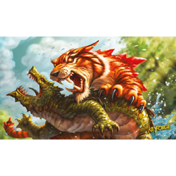 KeyForge: Game Mat - Mighty Tiger